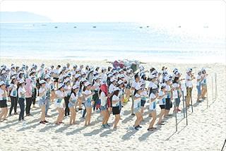Tổ chức chương trình teambuilding: Chương trình kỷ niệm 10 năm thành lập tập đoàn Đại Việt