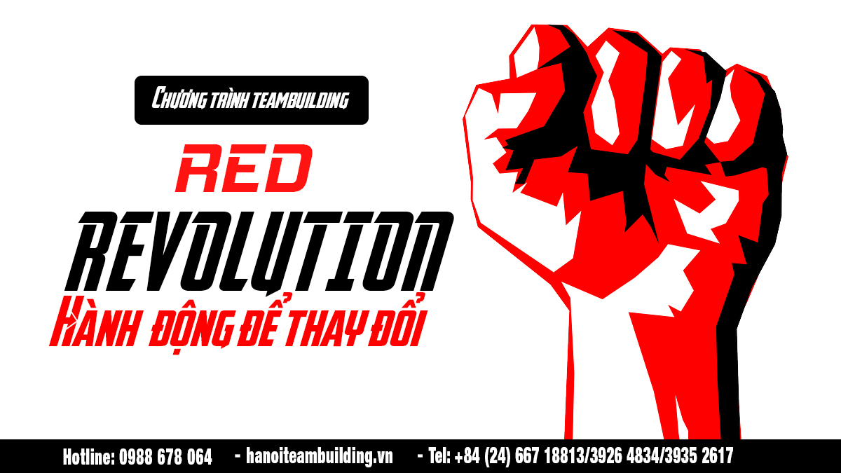 Team building 2018: RED Revolution