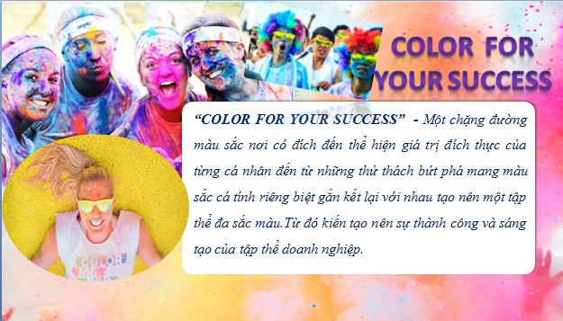 Team building: Color for your success
